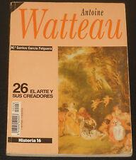 ANTOINE WATTEAU El Arte y sus Creadores #26 Libro español