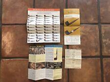 Vintage Dr Grabow Pipe Brochures