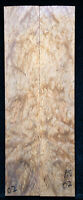 """Asian Satinwood Burl #02 Knife Scales 8""""x1.4""""x 5/16"""""""