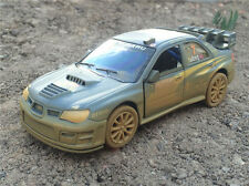 KiNSMART 1:36 Subaru Impreza WRC 2007 RALLY muddy racing version diecast