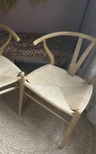 More details for hans wegner wishbone dining chair bedroom curved corner