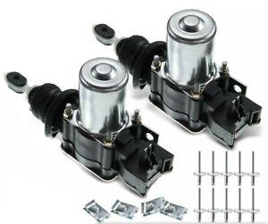 2 PC Set Power Door Lock Actuator for Chevy K1500 K2500 K3500 K10 K20 K30