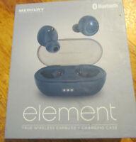 Merkury Innovations Element True Wireless Ear Buds + Charging Case