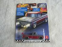 Mattel:  2019 Hot Wheels Boulevard:  Custom '62 Chevy Pickup NIP