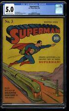 Superman #3 CGC VG/FN 5.0