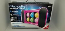 NEW iSound Wireless Rechargeable Bluetooth iGlowSound Dancing light Speaker Pink