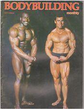 BODYBUILDING MONTHLY mag/Bill Richardson+Terry Phillips 8-78 vol 1 #11 U.K.
