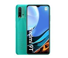 "XIAOMI REDMI 9T 4 RAM 64GB 6.53"" SMARTPHONE OCEAN GREEN DUAL SIM ANDROID NUOVO"