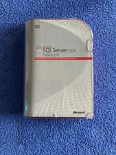SQL Server 2008 Workgroup, 5 client access licenses New In Box