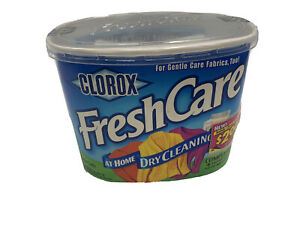 New Clorox Fresh Care At Home Dry Cleaning Kit Color Safe 4 Loads 16 Garments