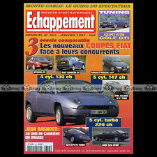 ECHAPPEMENT N°353 COUPE FIAT TURBO RUSH COSWORTH CALIBRA BMW M3 MEGANE 16S 1997