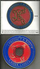 KAISER CHIEFS I predict a Riot 2004  PROMO Radio DJ CD single USA MINT UNIR21386
