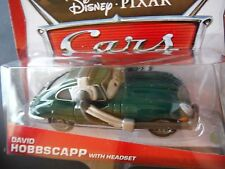 DISNEY PIXAR CARS DAVID HOBBSCAP HEADSET 2013 SAVE 5% WORLDWIDE FAST SHIP