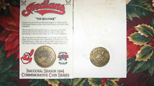1994 SGA JACOBS FIELD COIN NIP CLEVELAND INDIANS 1 OF 3