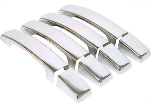 Brand New CHROME DOOR HANDLE COVERS Made to fit 2006-2009 Range Rover Sport