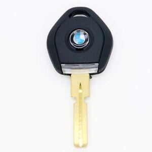 Uncut HU58 W/Light &Logo Transponder Key Shell No Chip for BMW 3 5 7 E36 E34 E32