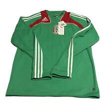 NEW Rare ADIDAS Mexico National Team 2008 Long Sleeve Training Top Men's Medium