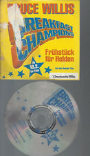 CD--AUDIO PRESS KIT--BRUCE WILLIS--BREAKFAST CHAMPIONS--FRUEHSTUECK BEI HELDEN