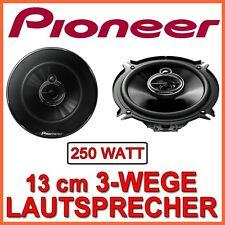 250W  Pioneer TS-G1333i - 13cm 3-Wege Lautsprecher 130mm BOXEN PAAR CarHifi AUTO