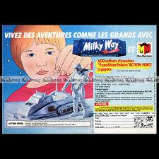 ACTION MAN ACTION FORCE AF9 Mountain Artic Vehicle 1983 Pub / Publicité Ad #B41