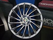 Set 4 Cerchi in lega Alfa romeo 18 Giulietta  Jtdm TBi  Black line quadrifoglio