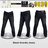 Women Motorbike Denim Jeans Pants Reinforced with DuPont™ Kevlar® fiber
