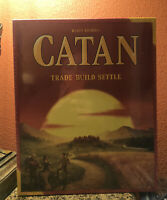 New Catan 5th Edition Trade Build Settle Card & Board Kids