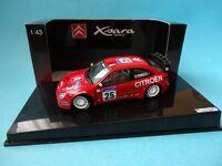 CITROEN XSARA WRC #25 - BUGALSKI - 4º RALLY CORSE 2002 - 1/43 AUTOART TRANSKIT