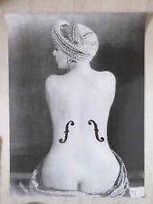 Man Ray.Le Violon d'Ingres 1924.Kunstdruck.80 x 60 cm.Neu