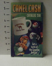Collectible Camel Cash Cigarette 1995 Catalog Six