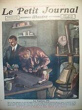 FONDEUR TRAFIC OR LINGOTS PIECES BIJOUX LE PETIT JOURNAL 1923