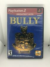 Bully Sony PlayStation 2 PS2 Greatest Hits W/ Case and Poster Tested