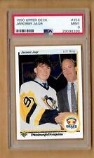 1990-91  Upper Deck  Jaromir Jagr  Rookie  #356    PSA 9