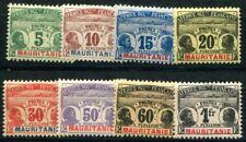 MAURITANIE PORTO 1906 Yvert TT 9-16 * SATZ 120€(F3765