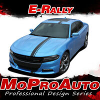E-RALLY Euro Racing Stripes Decals 3M Pro Vinyl Graphics 2015-2019 Dodge Charger