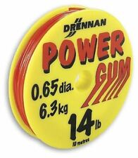 DRENNAN POWER GUM 14LBS - 10M RED - RED POWER GUM