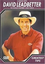 David Leadbetter Greatest Tips,  DVD, 2000, New, Rare