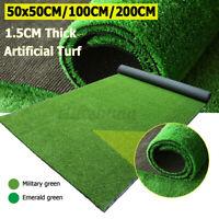 Artificial Turf Grass Mat Fake Synthetic Landscape Golf Lawn Home Garden Yard
