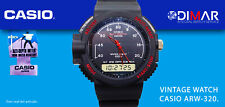 VINTAGE CASIO ALTI-DEPTH ARW-320, QW.376 JAPAN WR.100m NOS AÑO.1989.