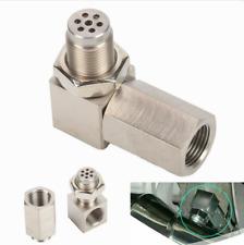 90° Oxygen O2 Sensor Spacer Adapter Cel Eliminator Mini Cat Catalytic Converter