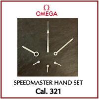 Ω Complete Hand Set High Quality For OMEGA Speedmaster Moonwatch Cal. 321 Ω