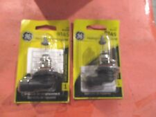 9145, H10--GE-LOT OF 2---HALOGEN--FOG--DRIVING-CLEAR-BULBS-