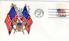 Sc# 1208a 5c Flag Tagged Aug. 25 1966 ABE cachet