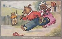 A. E. Kennedy Fairy tale Goldilocks - Three Bears  chase Goldilocks away