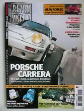 RETROVISEUR n°209 Dossier PORSCHE CARRERA de 356 à 911. ALFA ROMEO coupé GIULIA