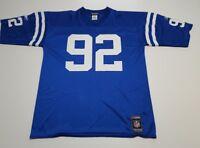 Indianapolis Colts Chad Bratzke #92 Jersey Reebok  Men's Large L NFL RARE euc