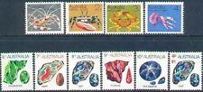 Australia 1973 MARINE LIFE/GEMSTONES Set (10) Unhinged Mint