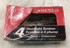 GE Halogen H4703 (LF) Round 4 Headlight System Low Beam - VERY GOOD