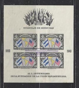 HONDURAS - C100 S/S - USED - 1940 - 50TH ANNIVERSARY OF PAN AMERICAN UNION