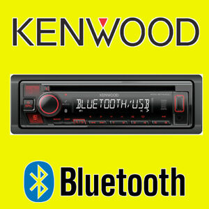 KENWOOD CAR CD USB RADIO STEREO TUNER HEAD UNIT PLAYER ANDROID iPHONE BLUETOOTH